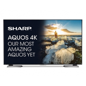 Sharp LC-60UD27U - 60-Inch Aquos 4K Ultra HD 2160p 120Hz Smart LED TV